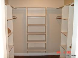 closet shelf storage depth and rod support bracket