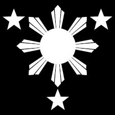 yoonek graphics philippines flag 1 sun and 3 logo