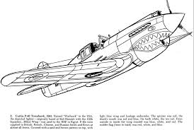 coloring coloringpages coloringpagesforteens wwii fighter