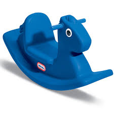Rocking Horse High Chair Rocking Horse Primary Blue At Little Tikes