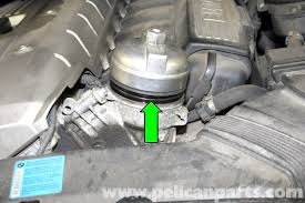 bmw e90 oil change procedure e91 e92 e93 pelican parts diy