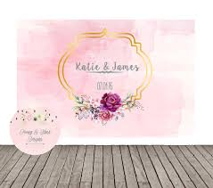 wedding backdrop font wedding backdrop pink and gold wedding floral backdrop