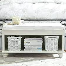 foot bench storage foot of bed bench with storage 6 foot storage