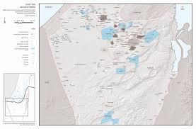 Negev Desert Map Zochrot Al U0027araqib