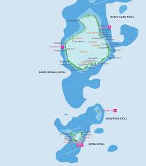 Thailand On World Map by Maldives Map With Resorts Airports And Local Islands 2017