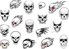 pictures skull designs to draw drawings gallery