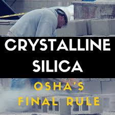 osha silica rule table 1 your osha silica requirements progress gfa international inc