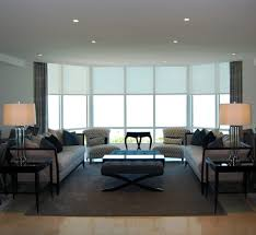 remote control living room contemporary with light wood floors