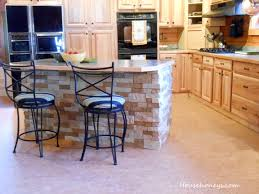 kitchen islands with columns airstone island fox den rd