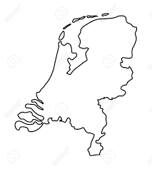 map netherlands black abstract map of netherlands map royalty free cliparts