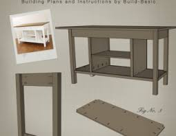 easy kitchen island plans assez diy kitchen island plans step 3 attach shelf brackets and
