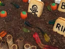 Halloween Dirt Cake Recipe Gummy Worms by Spooky Halloween Graveyard Cake U2013 Creative Super