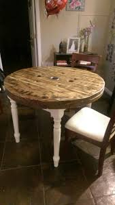 best 25 wooden spool tables ideas on pinterest spool tables handmade by my husband