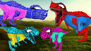 spider dinosaurs for kids funny spider dinosaurs cartoons for