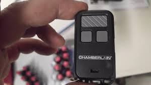 chamberlain wslcev remote light switch programming a chamberlain remote model 956 ev youtube