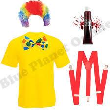 age 8 16 boys krazed jester costume mask halloween fancy dress boys u0027 clowns and circus fancy dress ebay
