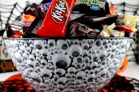 googly eyes candy bowl two sisters crafting
