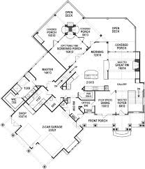Lakehouse Floor Plans Bear Lake House Plan For Lakefront Custom Ranch Home Building