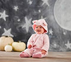 6 Month Halloween Costume Pig Halloween Costume 0 6 Months Pottery Barn Kids