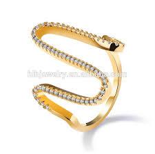 finger ring design gold new design finger ring designs snake shape ring buy