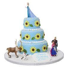 frozen birthday cake frozen fever elsa s birthday cake birthday cakes the cake store