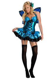skeleton costume halloween city blue fairy costume