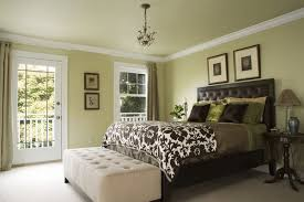 Master Bedroom Color Schemes Master Bedroom Ideas In Green Color Scheme Home Interior Design