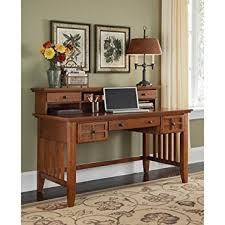 Computer Desks And Hutches Amazon Com Home Style 5180 152 Arts And Crafts Executive Desk And