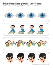 Les 5 sens activités pour enfants  Educatout