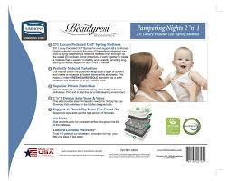 Serta Tranquility Extra Firm Crib Mattress by Simmons Kids Beauty Sleep Happy Nights 6