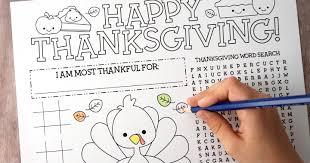 free printable thanksgiving activity page artsy fartsy