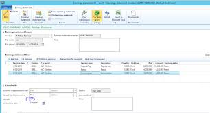 entering payroll beginning balances in dynamics ax for a new