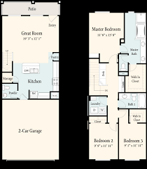 townhomes floor plans apartments in chino homecoming at the preserve