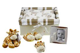 Unisex Gifts Giraffe Unisex Baby Gift Hamper U2014 Handmade Hampers