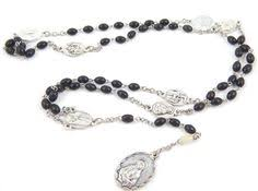 rosary of the seven sorrows antique seven sorrows servite rosary by luxmeachristus