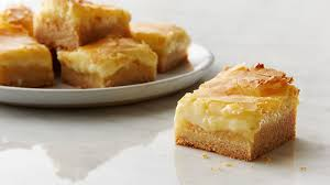 Ooey Gooey Butter Cake Bars Recipe Tablespoon Com