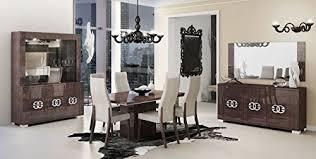 Wenge Living Room Furniture Esf Prestige High Gloss Wenge Lacquer 3 Door China Dining Room Set