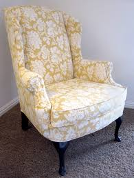 wingback chair how to upholster a wingback chair reupholster old