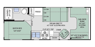 rv class c floor plans 2017 thor four winds 23u r29783a reliable rv in springfield mo