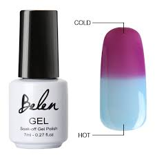 amazon com belen chameleon thermal colour changing gel polish