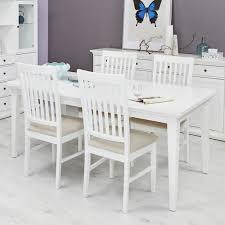 Esszimmer Komplett G Stig Tvilum Landhaus Tischgruppe Paris 5tlg Weiß Günstig Kaufen