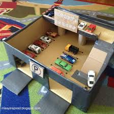 mommo design diy toys u2013 shoe box garage great way to introduce