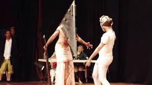 Pyramid Head Halloween Costume Silent Hill Cosplay Pyramid Head Bubble Head Nurse Hd