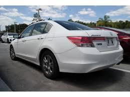 2011 honda accord white white honda accord in lakeland fl for sale used cars on