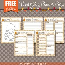 the polka dot posie thanksgiving printable goodies