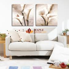 living room framed wall art living room drop shipping hot canvas painting flower wall pictures for living