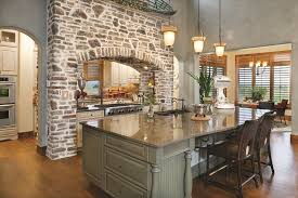Painted Kitchen Islands Kitchen Style With Wooden Pale Green Painted Kitchen
