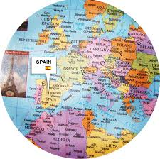 Spain World Map by World Map World Map And World Geographical Information