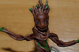 polymer clay tutorial dancing baby groot guardians of the galaxy