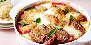 cuisiner les aubergines facile gratin d aubergines facile et pas cher recette sur cuisine actuelle